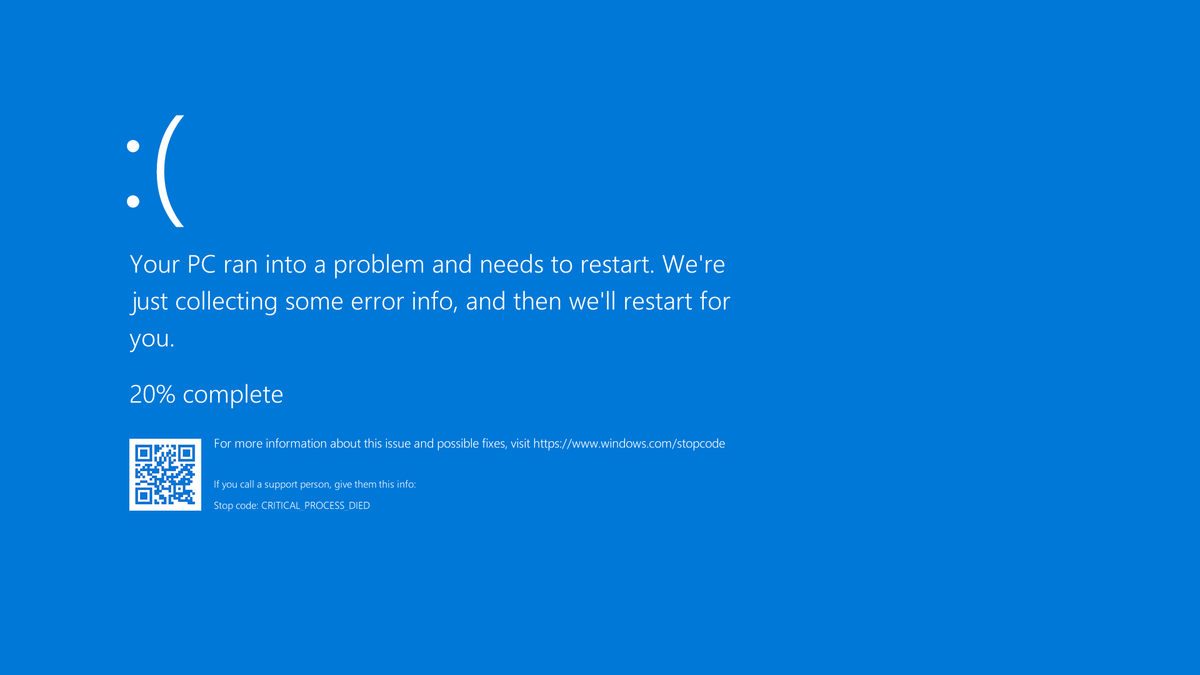 cara mengatasi laoptop blue screen